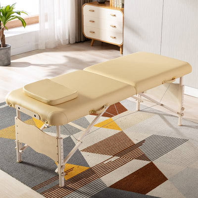 Professional Vegan Leather Adjustable Massage Table