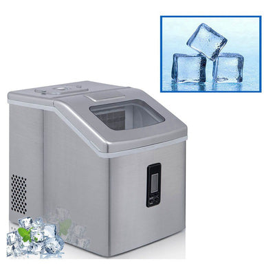 2.2L Ice Maker Countertop Crystal Ice Cubes Machine 22kg Output