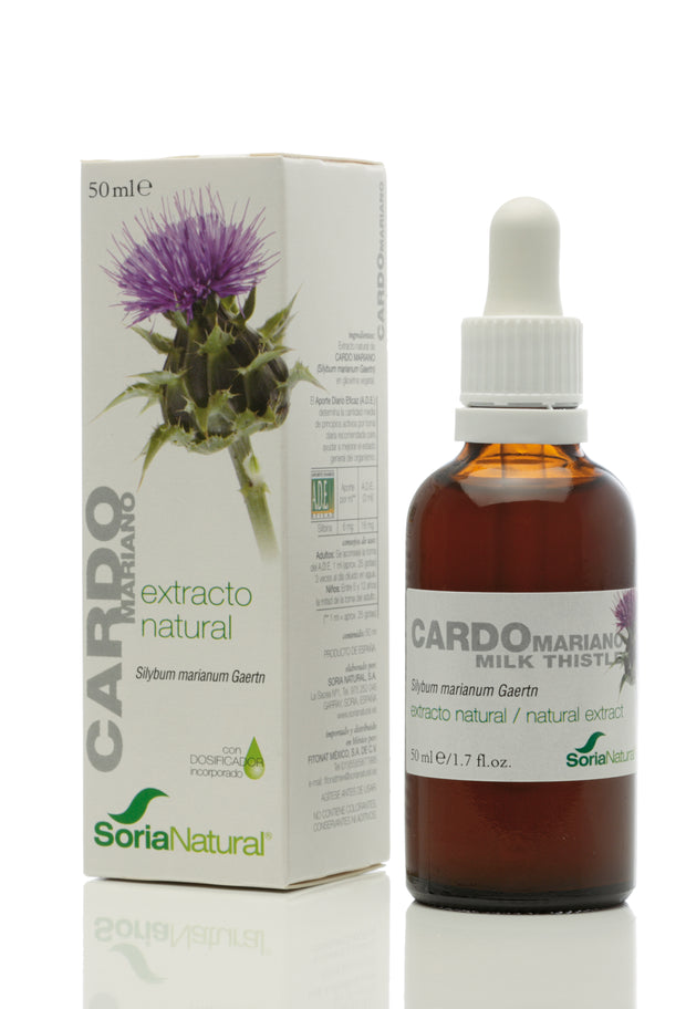 Extracto Cardo Mariano S.XXI - 50ml - Soria Natural