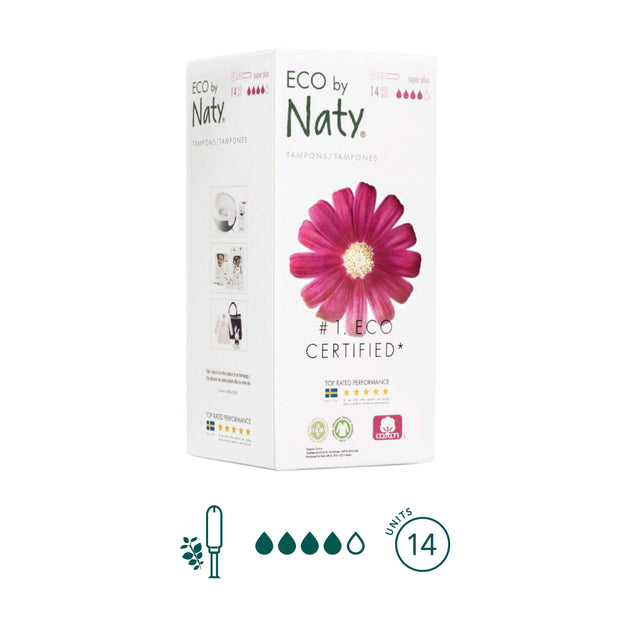 Tampones Super Plus - ECO by Naty - Kiara