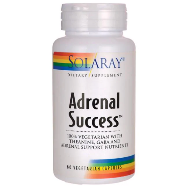 Adrenal Success - 60 Cápsulas - Solaray - Kiara