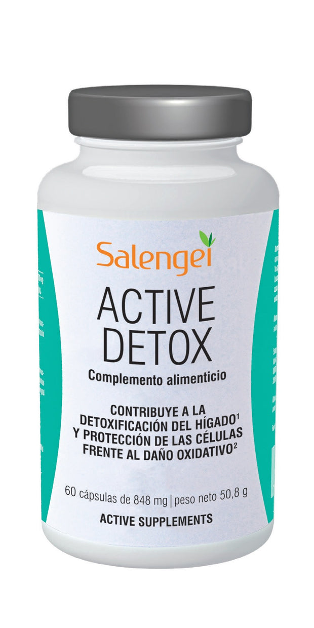 Active Detox 60 Cápsulas - 848mg - Salengei