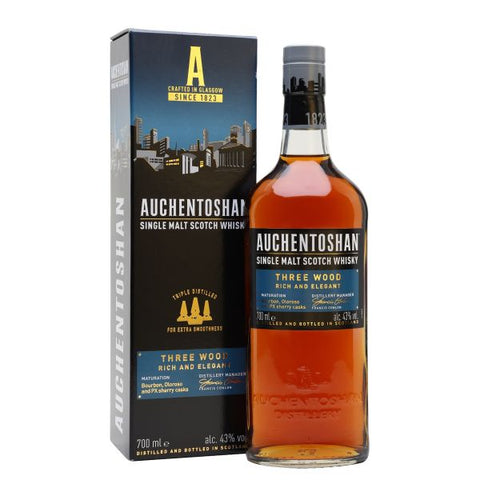 Auchentoshan Three Wood 70cl | 43%