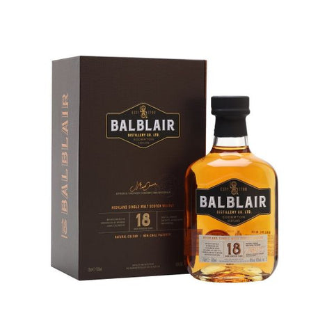 Balblair 18 Years Old 70cl | 46%