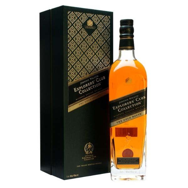 Johnnie Walker Gold Route Explorer's Club Collection 100cl | 40%