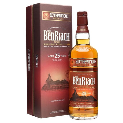 Benriach 25 Year Old Authenticus Peated Malt 70cl | 46%