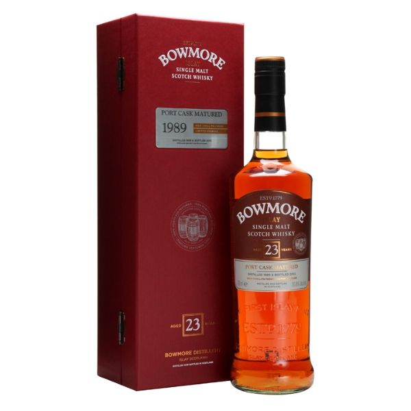 Bowmore 1989 23 Year Old Port Cask Matured 70cl | 50.8%