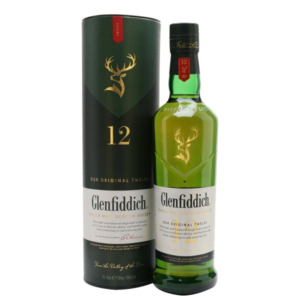 Glenfiddich 12 Year Old 70cl | 40%