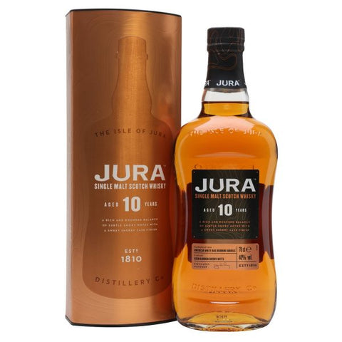 Isle Of Jura 10 Year Old 70cl | 40%