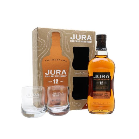 Isle of Jura 12 Year Old Glass Set 70cl | 40%