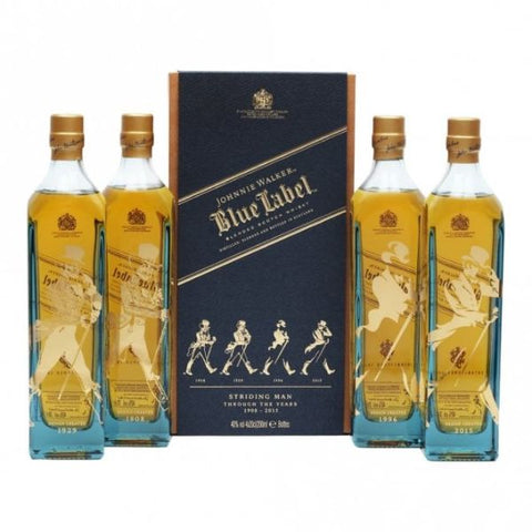 Johnnie Walker Blue Label - Striding Man Edition 4x 20cl | 40%