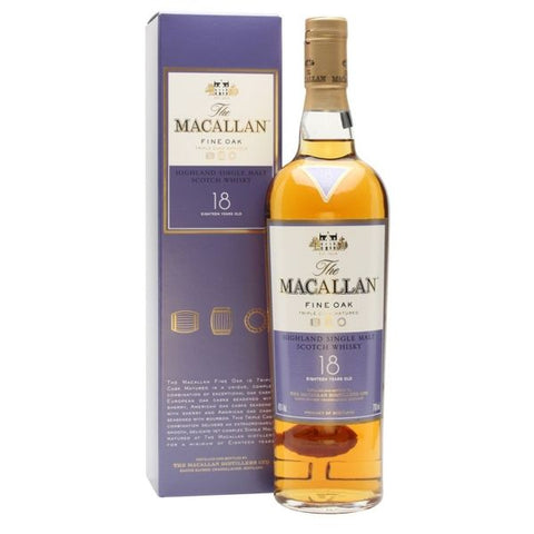 Macallan 18 Year Old Fine Oak 70cl | 43% x 6 Bottles