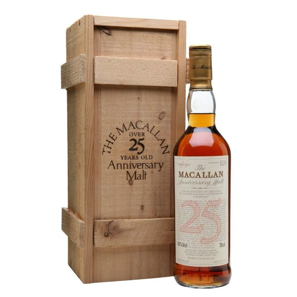 The Macallan 25 Year Old 1965 Vintage 75cl | 43%