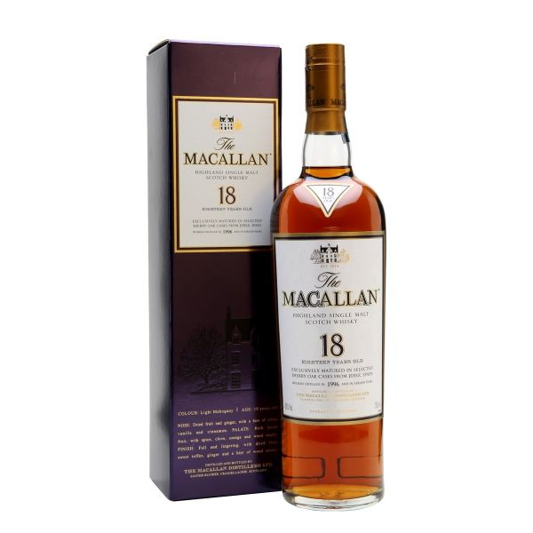The Macallan 18 Year Old 1996 Vintage 70cl | 43%