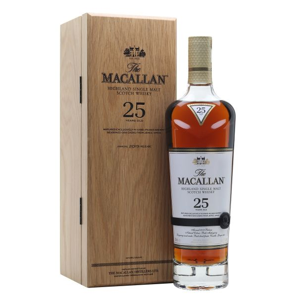 The Macallan 25 Year Old Sherry Oak 2019 Release 70cl | 43%
