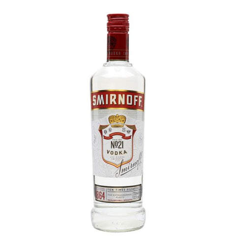 Smirnoff Red Vodka 75cl | 40%