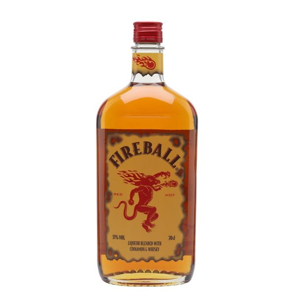 Fireball Cinnamon Whisky Liqueur 70cl | 33%