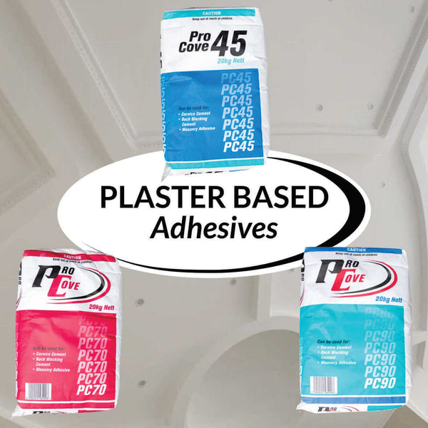 Plaster Based Adhesives