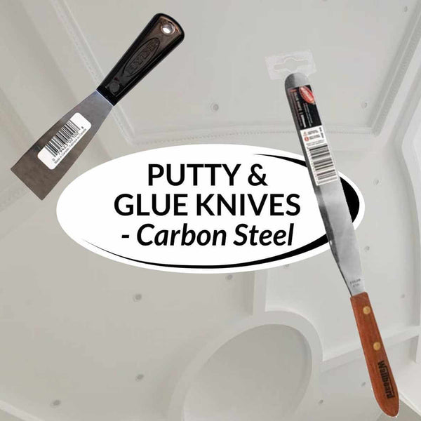 Putty and Glue Knives - Carbon Steel