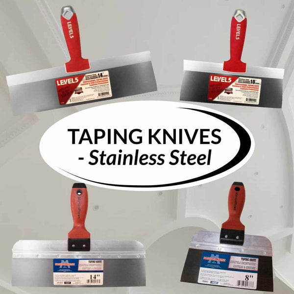 Taping Knives - Stainless Steel