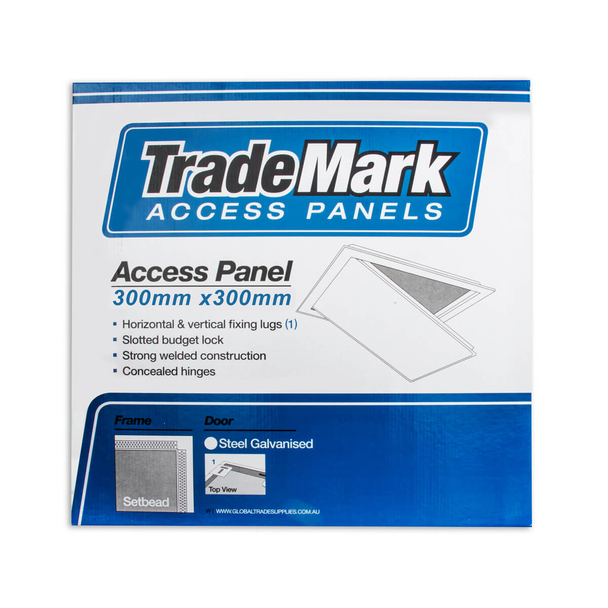 Access Panel 300x300 Set Bead