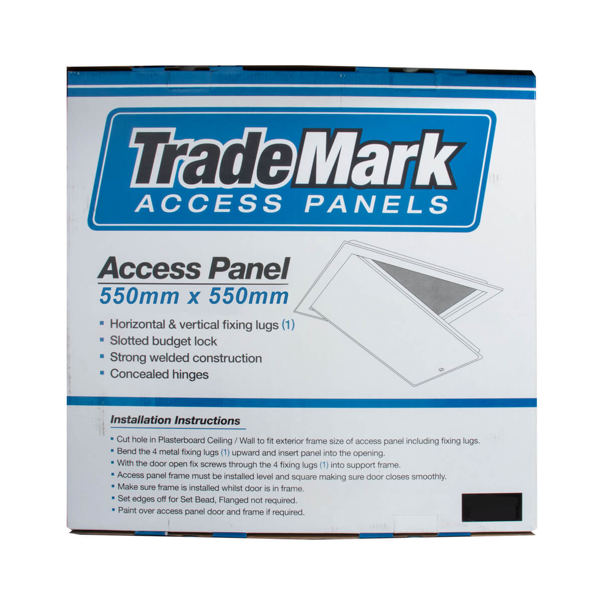 Access Panel 550x550 Flanged