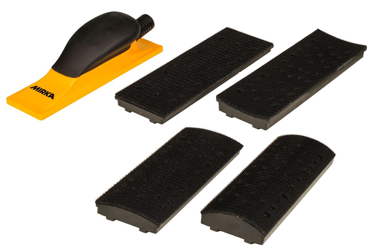 Sanding Block Kit 70x198mm Grip 40H Mirka