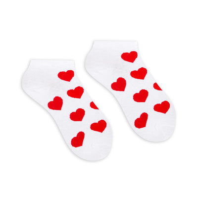 Hearts Ankle Socks