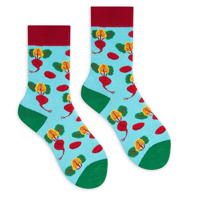 Beetroot Crew Socks