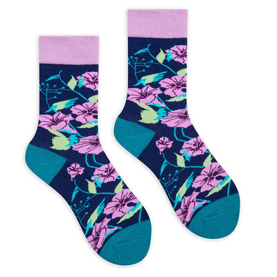 Flower Crew Socks