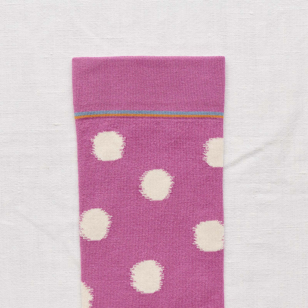 Tout L'Or Orchid Polka Dot