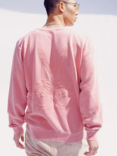 Load image into Gallery viewer, VISUS LOGO CREWNECK • ROSE