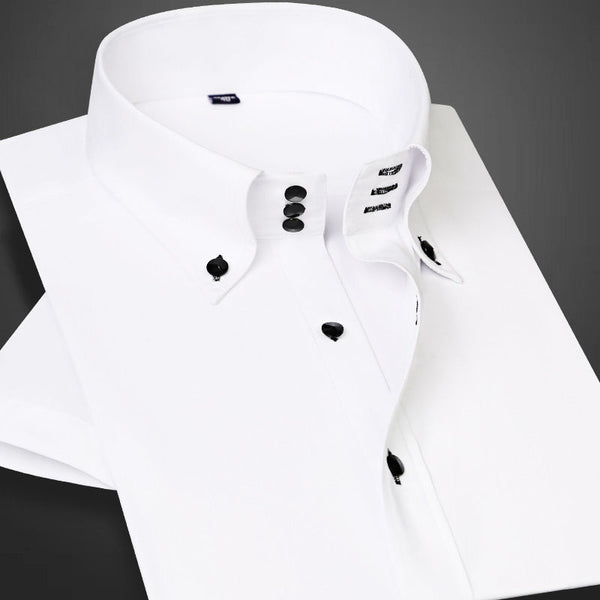 Mens Casual diamond Buttons Long Sleeve Shirts