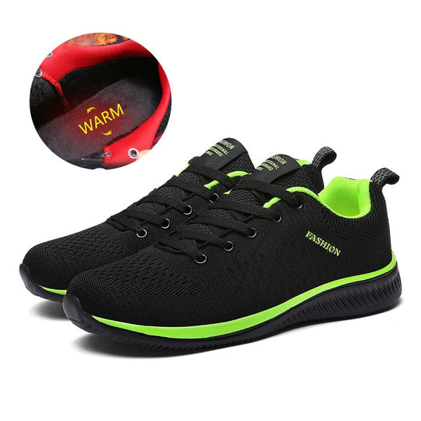 UEXIA Casual Shoes for Men Summer Mesh Men Breathable Sneakers