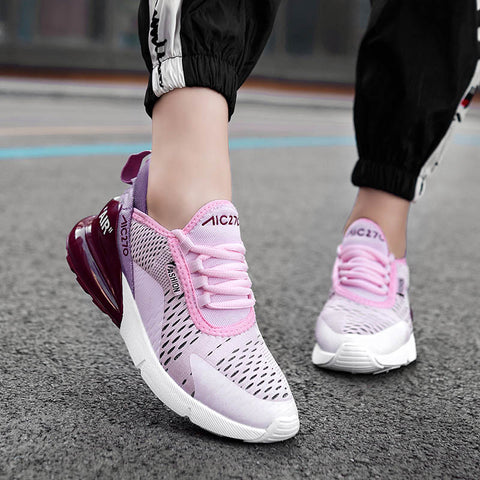 Women's White Platform Sneaker Casual Shoes