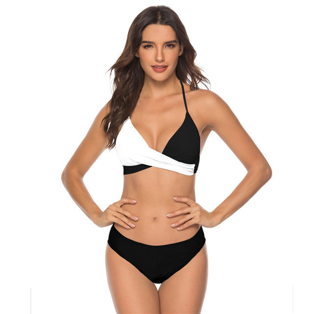 2020 Women Sexy Bikini Set Push Up Female Swimsuit Swimwear