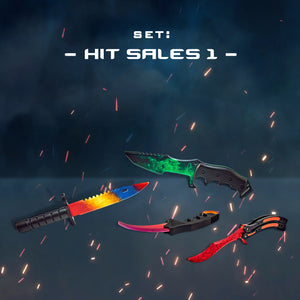 "Set of knives ""Hit sales 1"" Free gifts!"
