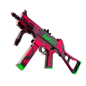 UMP-45 Active | Neon Revolution Automatic Assault Rifle / Wooden Souvenir / Wooden Replica / shoots rubber bands
