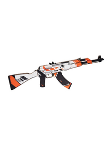 "АК-47 in color ""Asiimov"" 