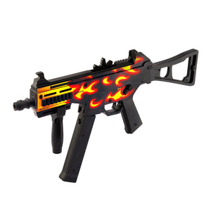 UMP-45 Active | Blaze Automatic Assault Rifle / Wooden Souvenir / Wooden Replica / shoots rubber bands