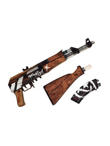 "АК-47 in color ""Wasteland Rebel"" 