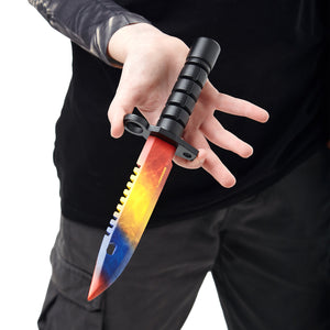 Bayonet M9 Marble Fade | wooden training knife replica