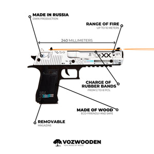 "Desert Eagle ""Printstream"" pistol version Active 