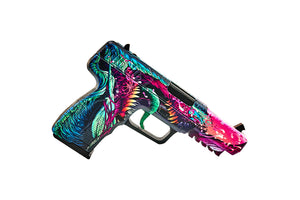 Five-7 Hyper Beast | Wooden replica shoots rubber bands