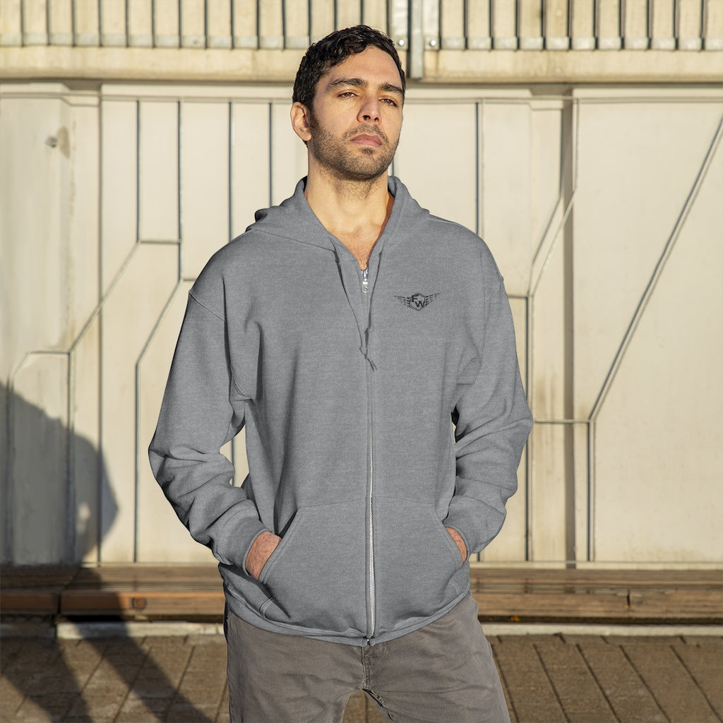 Fit Warriors Athletics ✧ Unisex Zip Up Hoodie