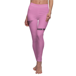 Fit Warriors Athletics ✧ Signature Series ✧ Women's Cut & Sew Casual Yoga Fitness Pink Pants