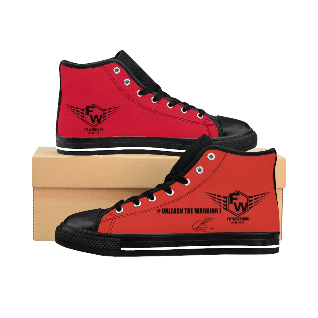 Fit Warriors Athletics ✧ Men's High-top Sneakers