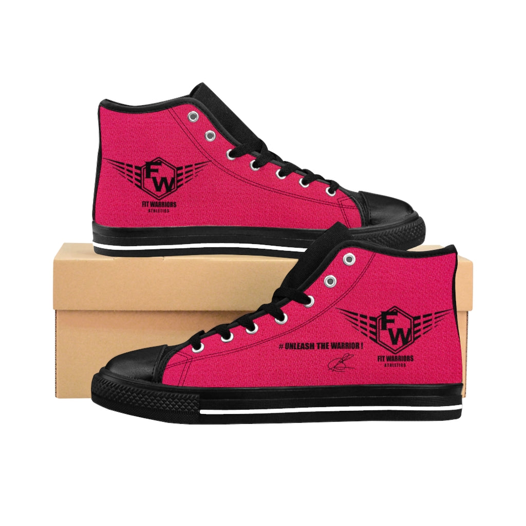 Fit Warriors Athletics ✧ Women's High-top Sneakers