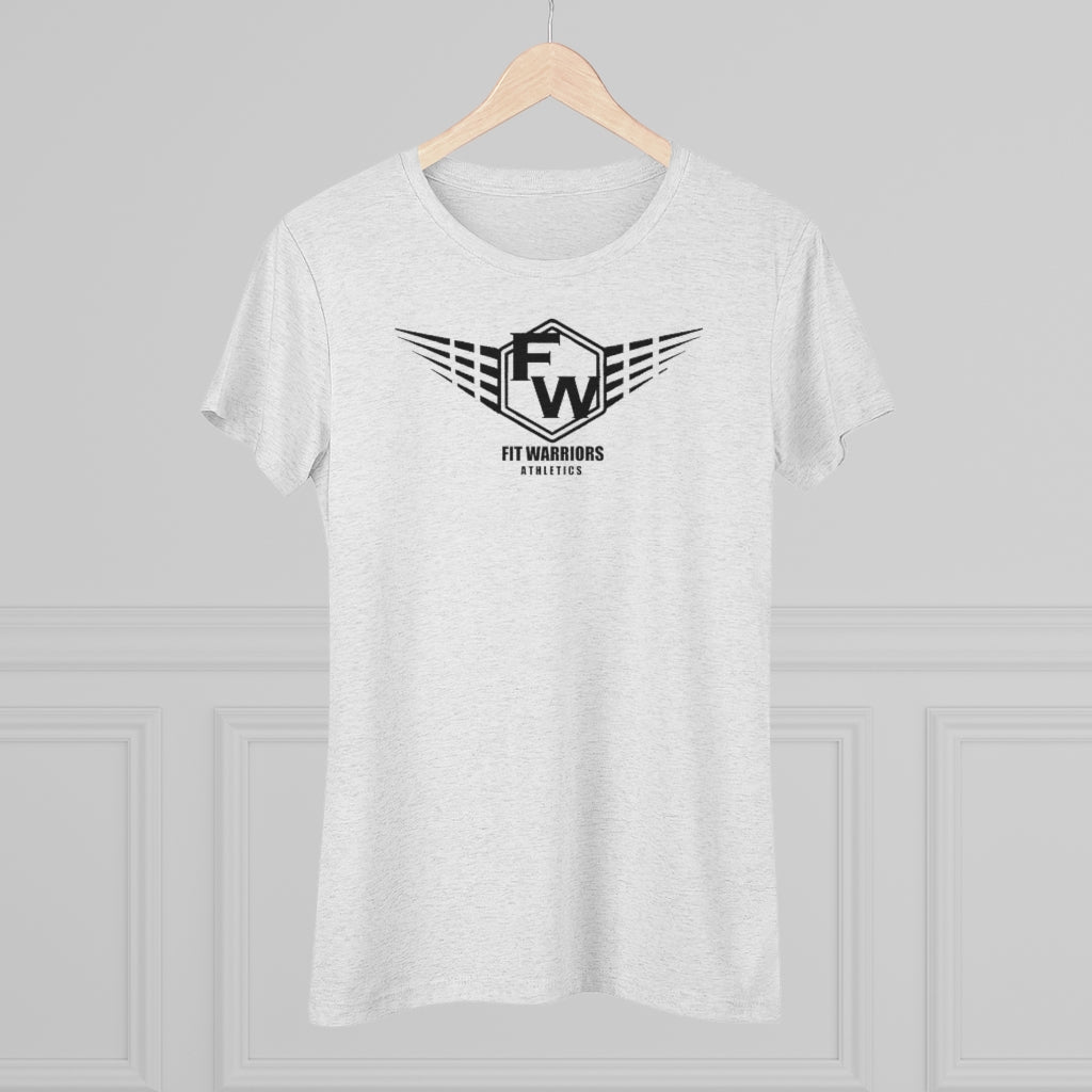 Fit Warriors Athletics ✧ Women's Triblend Tee