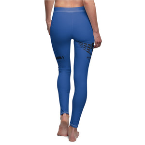 Fit Warriors Athletics ✧ Women's Cut & Sew Casual yoga fitness Blue pants